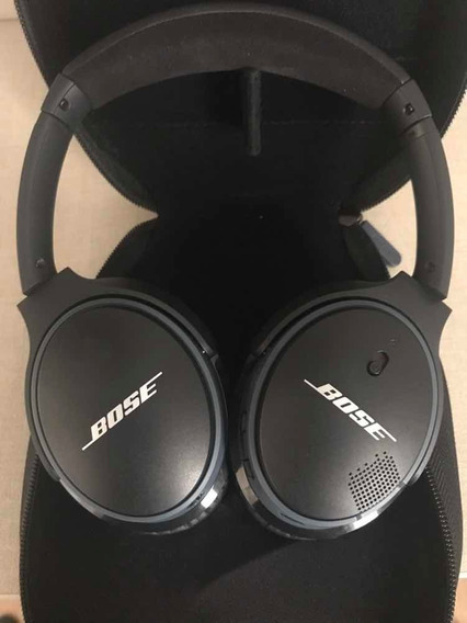 Fone Bose Soundlink Preto Wireless/sem Fios