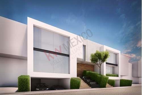 Casa Del Agua Residencia En Cluster 10-10-10 Lomas Angelopolis