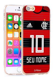 Capa Capinha Flamengo 2018 Time Personalizada Com Nome