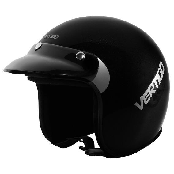 Casco Abierto Vertigo Basic Negro Motocity
