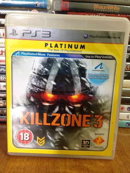 Killzone 3 Ps3 Completo Mídia Física Ptbr