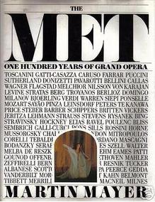 The Met - One Hundred Years Of Grand Opera - Livro