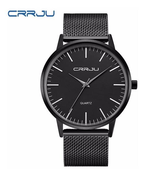 Moda Ultrathin Homens Relógio De Quartzo Relógios De Pulso