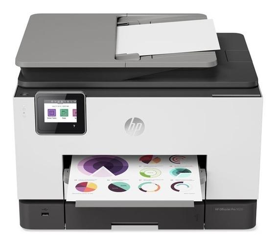 Impressora Multifuncional Hp Oj Pro 9020 Jato De Tinta Color