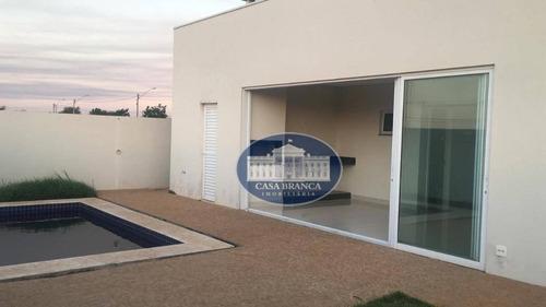 Imagem 1 de 16 de Casa De Alto Padrão Em Condomínio De Luxo! - Ca1581