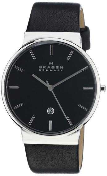 Skagen Skw6104 Ancher Reloj De Cuero Negro Para Hombres S