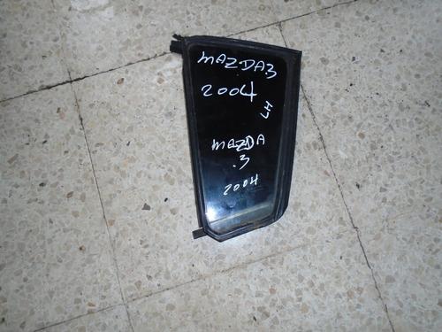 Vendo Vidrio Trasero Izquierdo De Mazda 3, Año 2004