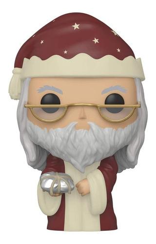 Boneco Funko Pop Harry Potter Albus Dumbledore Holiday 125