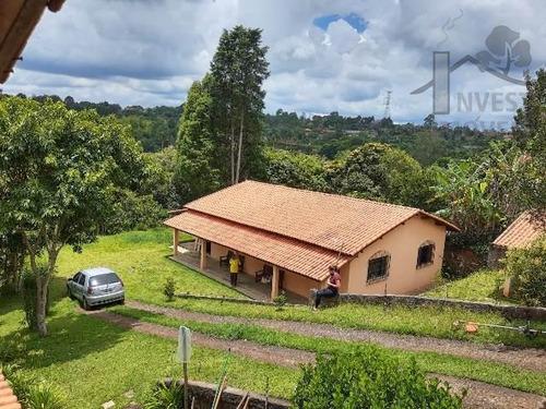 Cod 5203 - Chácara Para Lazer Ou Moradia Com 2 Casas No Terr - 5203