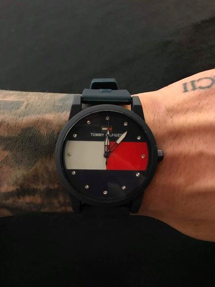 Relógio Social Unisex Casual Borracha