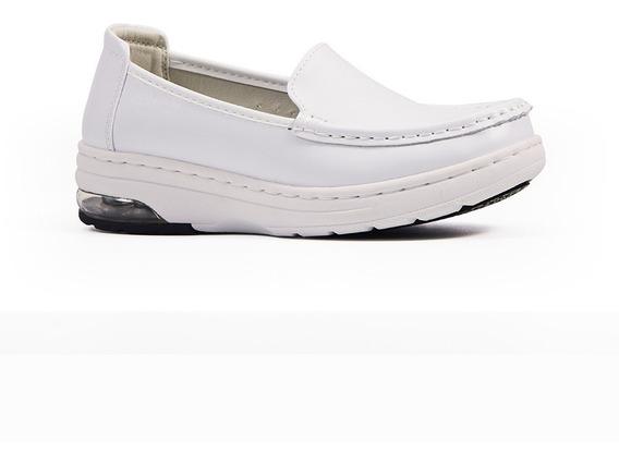 Sensfoot Zapato Enfermera Piel, Medico, Antiderrapante
