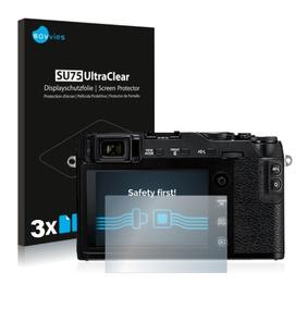 3 Películas Plásticas Savvies Lcd Fuji Fujifilm Xe3 X-e3