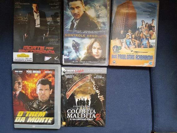 Lote Com 5 Dvds Originais Diversos - 5 Filmes !!