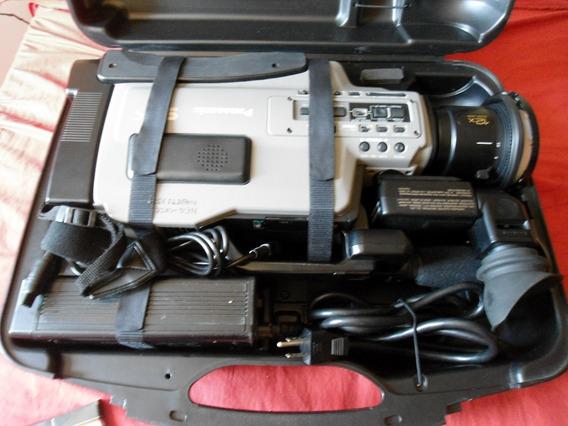 Filmadora Panasonic Ag-456 Pro Line C/ Acessórios !