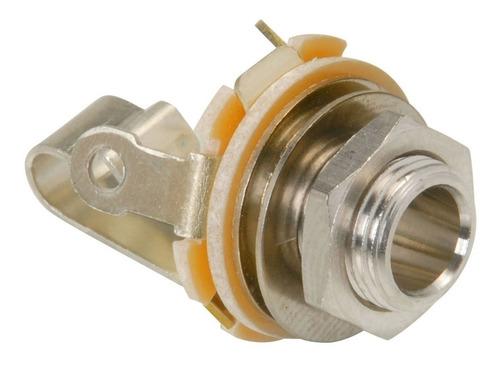 Imagen 1 de 4 de  Conector Jack 6,5 Mono C/ Circuito Abierto Switchcraft Sw11