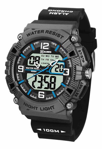 Relógio Xgames Anadigi - Xmppa252 Bxpx C/ Nf E Garantia O