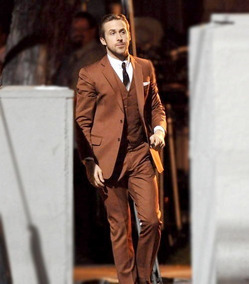 Terno Maroon Blazer+calça Oxford