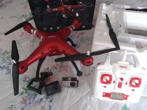 Drone Syma X8hg Seminovo!