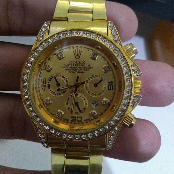 Relógio Feminino Dourado