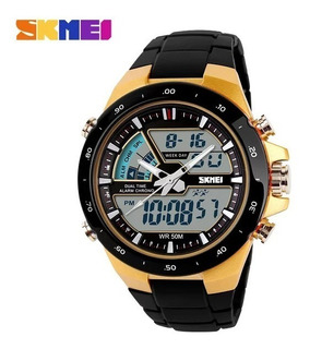 Reloj Sumergible 50 Mts Calendar 2 Alarm Cronómetro.