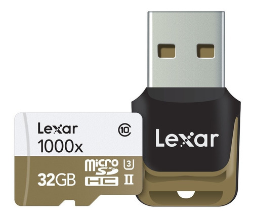 Memoria Lexar Profesional 1000x Microsd Hc 32gb U3 4k 150m/s