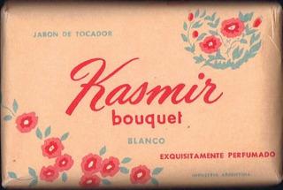 Antiguo Jabón Kasmir De Colección
