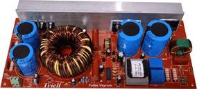 Fonte Chaveada Amplificador De Audio 5000w Ate 98+98volts Dc