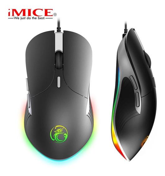 Mouse Gamer Imice X6 6400 Dpi Ajustável