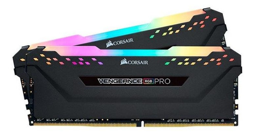 Imagem 1 de 2 de Memoria Ram Corsair Vengeance Rgb Pro 16gb (2x8)ddr4 3200mhz