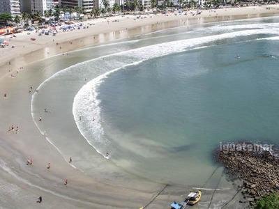 Apto À Venda Na Praia Das Astúrias Frente Ao Mar - A3691mll
