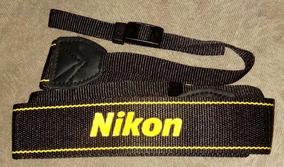 Alça Nikon An-dc3 Câmera D-slr D3200 D3300 D5600 D5300