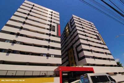 Apartamento Para Venda Em Maceió, Poço, 3 Dormitórios, 1 Suíte, 3 Banheiros, 2 Vagas - 031905