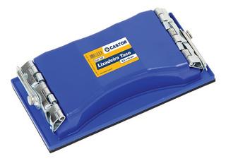 Lixadeira Castor Taco 8,5cm X 16,5cm