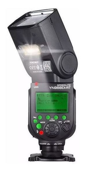 Flash Yn968ex Rt Yongnuo Rt Com Radio Embutido Para Canon
