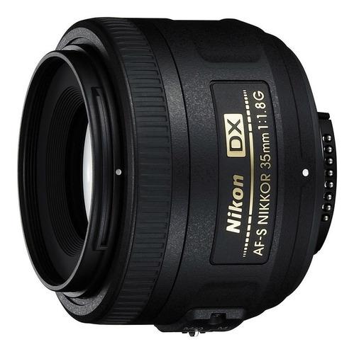 Lente Nikon 35mm Fijo Af-s Dx F/1.8 Nikkor Lens Nuevo