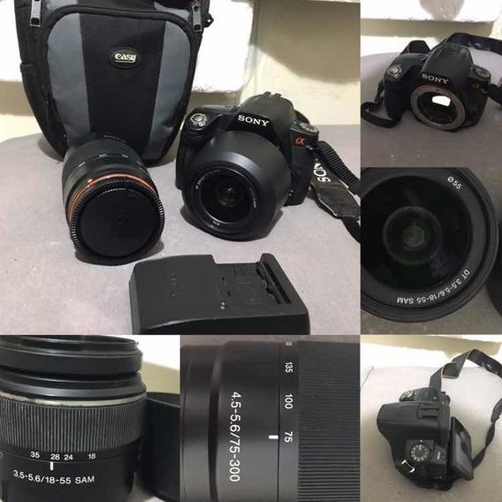 Kit Camera Sony Alpha A390 + Flash Yongnuo Yn560ii