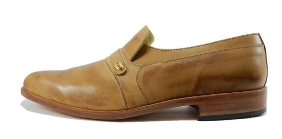 Zapato Free Comfort Mocasín Cuero Suela 4808