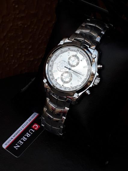 Relógio Curren Chronometer - Pronta Entrega