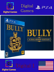 Bully Ps4 Fisica - Games no Mercado Livre Brasil
