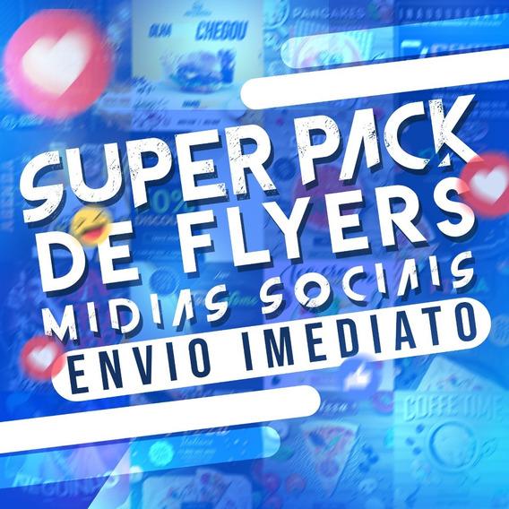 Pack De Artes Para Mídias Sociais +37 Mil Pngs + Flyers Promocionais