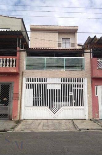 Imagem 1 de 16 de Sobrado Com 2 Dormitórios À Venda, 183 M² Por R$ 560.000,00 - Jardim Santo Alberto - Santo André/sp - So0322