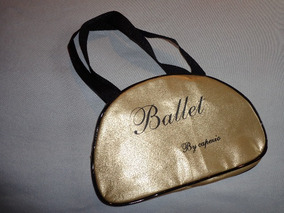 Bolsa Ballet Capezio B21 Necessaire Dourada Ou Prateada
