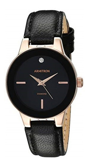 Reloj Armitron Para Dama. 30 Mm. 75/5410bkgpbk