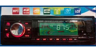 Radio Nuevo Para Carro Con Bluetooth Envio Gratis+ Bono Rega