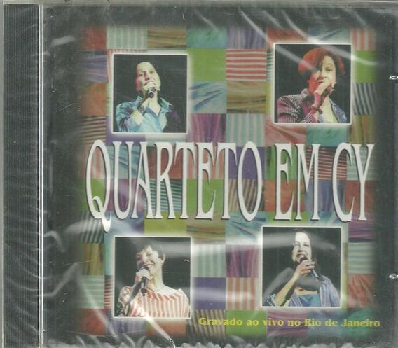 Cd Quarteto Em Cy Ao Vivo No Rio De Janeiro Cid Lacrado