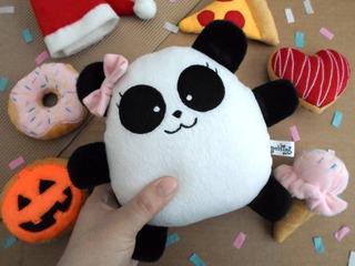 Oso Panda Niña Peluche Decoración Cumpleaños Guyuminos Bebé