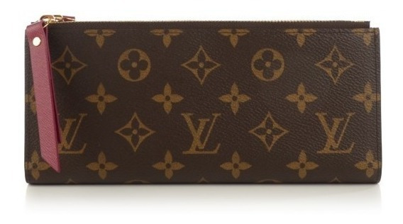 Carteira Adele Louis Vuitton Couro E Canvas Importada Top