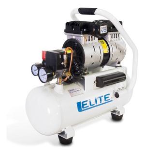 Compresor Elite Aire Médico Libre Aceite, Bajo Ruido 125 Psi