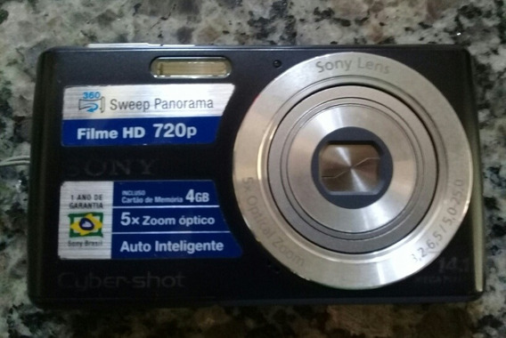 Câmera Sony Dsc-w620 Hd 720p
