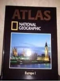 Livro Atlas Nacional Geographic Europa I Abril Coleções